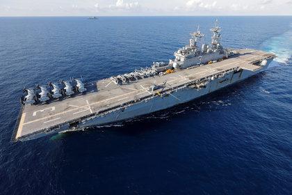 США направили десантный корабль для прикрытия вывода войск из Сирии