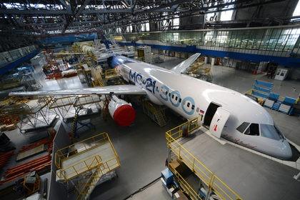 США перекрыли поставки материалов для «российского самолета XXI века»