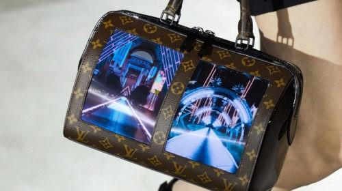 Louis Vuitton собирается выпустить сумки со встроенными дисплеями