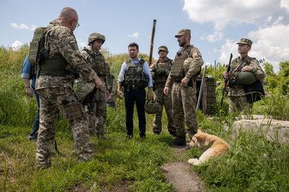 Украинские военные воспротивились Зеленскому