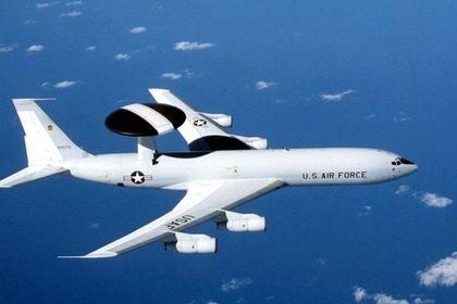 Американский «летающий радар» загорелся в воздухе