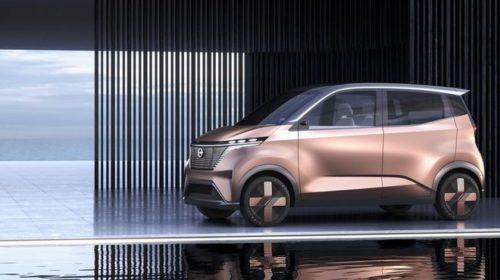 Nissan представил новый электромобиль на базе Leaf