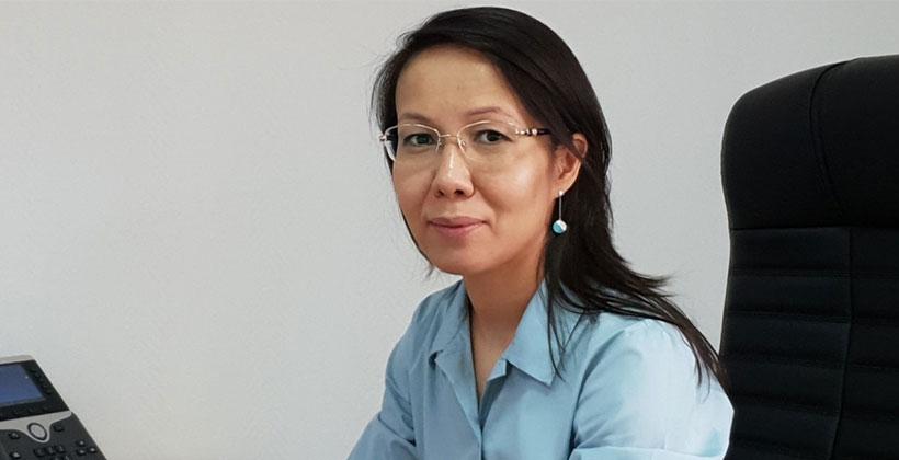 Директор департамента монетарных операций Национального банка Алия Молдабекова