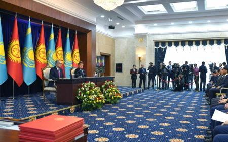 Между Казахстаном и Кыргызстаном планируют создать логистический центр