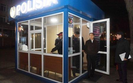 Бакытжан Сагинтаев проверил работу мобильных пунктов полиции