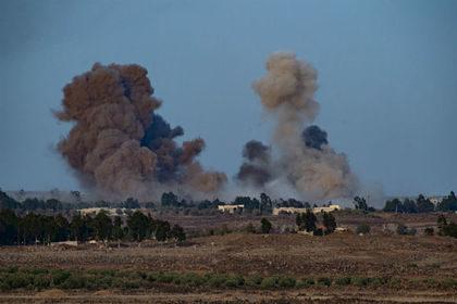 Неизвестные военные самолеты атаковали север Сирии
