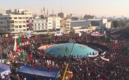 Во время давки на похоронах Касема Сулеймани погибли 50 человек