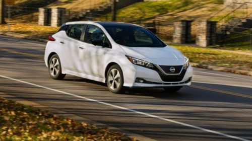 Новое поколение Nissan Leaf: названа цена электрокара