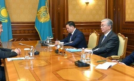 Президент принял исполнительного секретаря ГРЕКО