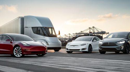 Tesla отчиталась о поставках электрокаров за год