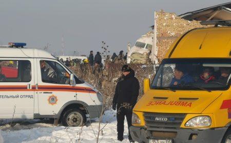 О состоянии пострадавших в крушении самолета Bek Air рассказали медики