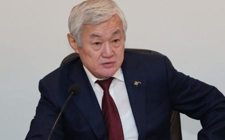 Бердибек Сапарбаев стал акимом Жамбылской области