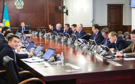 Министры доложили Аскару Мамину об исполнении Общенационального плана