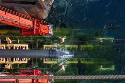 Способное достроить «Северный поток-2» российское судно прибудет в Сингапур
