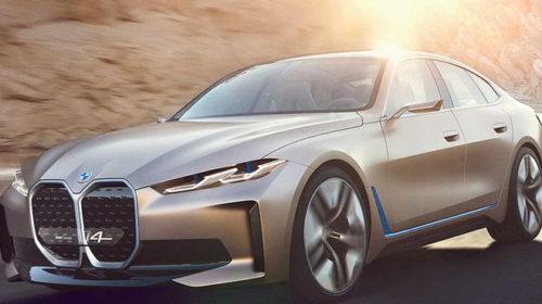 600 км без подзарядки: немцы раскрыли внешность BMW i4