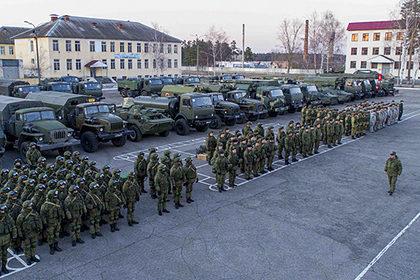 Российская армия проведет спецучения из-за коронавируса