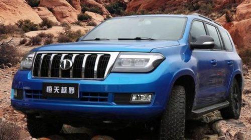 Китайцы официально представили бюджетную копию Toyota Land Cruiser