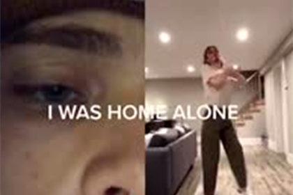 Зрителей напугало «паранормальное нечто» на видео с танцем парня в пустом доме