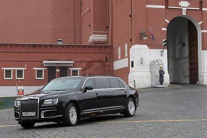 Стали известны сроки первой поставки машин из «Кортежа» Путина