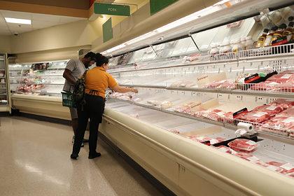 США оказались под угрозой дефицита мяса