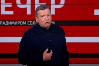 Соловьев раскритиковал жалующихся на нехватку масок россиян